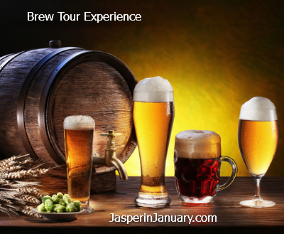 Jasper in January 2017  brew-Jasper Brew Tour